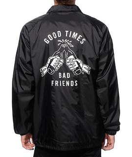 Good Times Bad Friends Parka