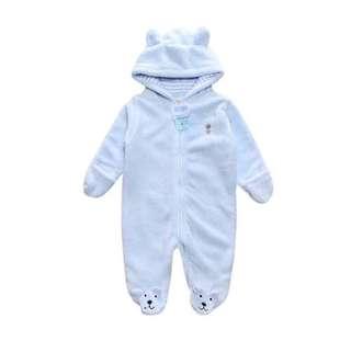 Light Blue Baby Onesie