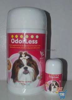 Odorless, small breed, 100 tablets