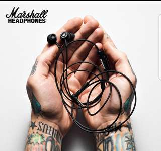 Brand New Marshall Mode In-ear Earpiece - In box!