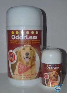 Odorless, medium large breed, 40 tablets