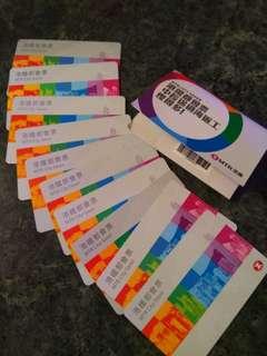 ($20) 港鐵都會月票 已過期 只限收藏