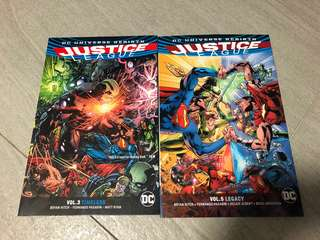 Justice league DC comics set tpb
