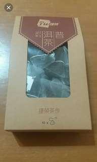 出售十包裝捷榮立體三角普洱茶包