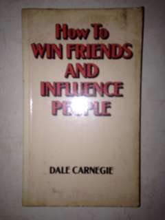 Dale Carnegie ( How to win friends and influence people )