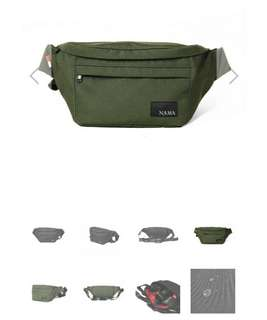 tas waist bag selempang namastudios water repellent