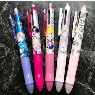 <ready stock >Pilot Japan Sailormoon frixion ball 3