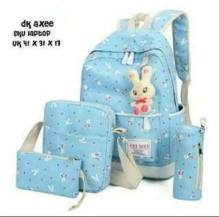 Backpack playboy 1 set