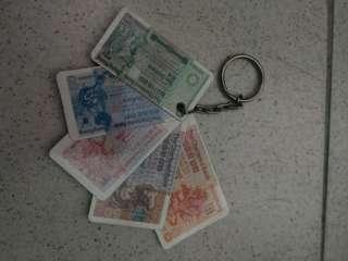 渣打 紙幣鎖匙扣