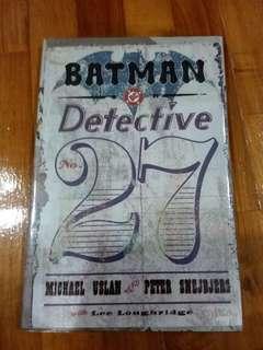 DC - Batman Detective No.27 (Hardcover)