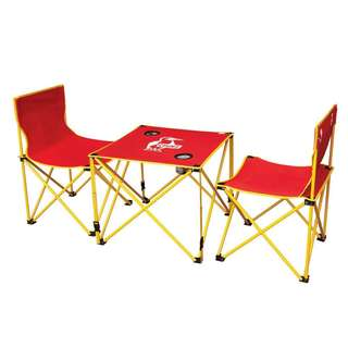 Shell Picnic folding table and chairs