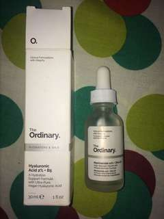 The Ordinary Hyalironic Acid 2% + B5