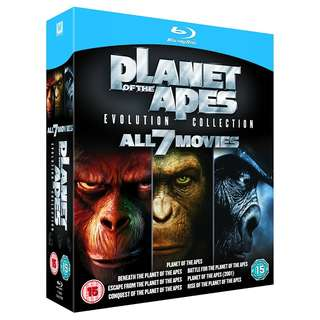 Planet Of The Apes Collection Blu-ray