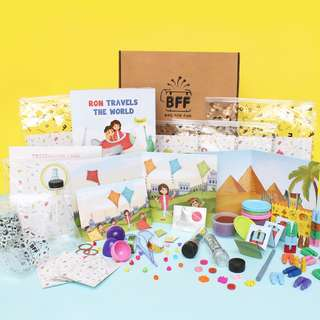 Busy Box (1st Box): Educational children activities for 1.5 - 6 y.o.