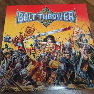 "Bolt Thrower ""War Master"" Gatefold Vinyl LP 1991 First Press"
