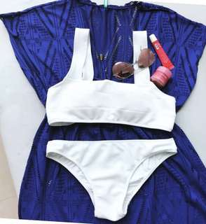 White Bikini (Wave Swimwear -