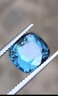 4.8ct sky blue natural Burma Mogok Spinel
