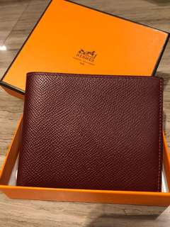 Hermes MC2  Coperic compact wallet