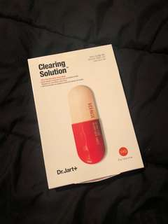 Dr Jart Clearing Solution Face Mask