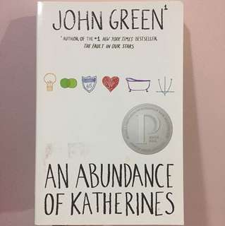 John Green An Abundance of Katherine