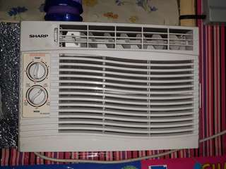 Sharp 0.5 hp Aircon 2 months old