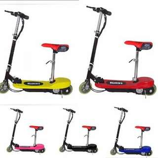 Pre Order Electric scooter  Php  5000 Applicable age : 8 years old and above Load: 30 kg  Maximum speed: 25km/h Maximum stroke: 7.5-10 km Power impulse time : 3-5h #sywg