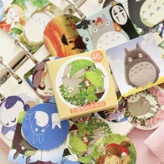 Sticker Set (Totoro) (Ref No.: 260)