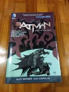 DC - Batman Night Of The Owls (Hardcover)