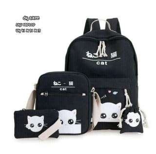 Backpack set cat