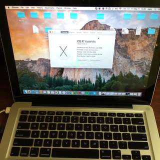 Apple MacBook 6GB RAM 250GB Disk - Negotiable