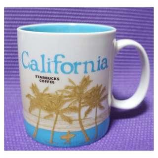 【端午節前任2件物品折扣200】絕版 STARBUCKS星巴克 美國加州 CALIFORNIA 城市杯 馬克杯 16OZ