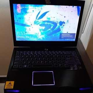 Alienware M14 R1 16GB Memory 128GB SSD Gaming Laptop