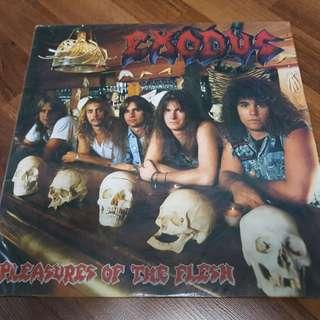 "Exodus ""Pleasures of the Flesh"" Vinyl LP 1987"