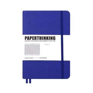 A5 bullet journal (blue)