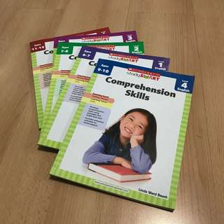 NEW Scholastic English Comprehension Assessment / WorkBook 4