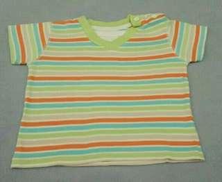 [Preloved] T-shirt anak Laki 3-6m (fit smp 12m)