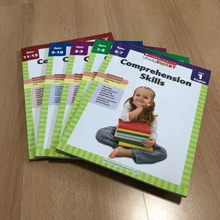 NEW Scholastic English Comprehension Assessment / WorkBook 1