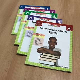 NEW Scholastic English Comprehension Assessment / WorkBook 6