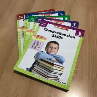 NEW Scholastic English Comprehension Assessment / WorkBook 3