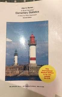 A Brief Version: Elementary Statistics: A Step by Step Approach, Seventh Edition (Allan G. Bluman)