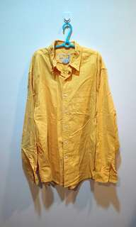 🚚 Oversize黃色襯衫