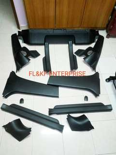Interior part toyota yaris/vios ncp93