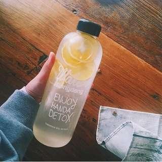 Cute South Korea Pongdang water bottle cup plastic trend