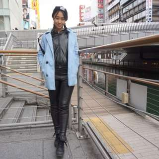 Fall/Winter outer - Baby Blue