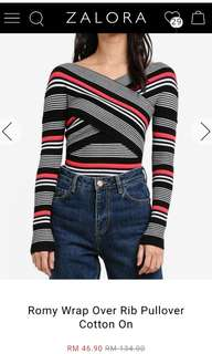 Cotton on.Striped Top