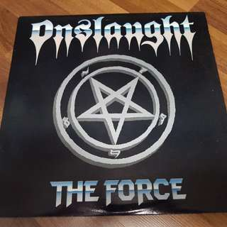"Onslaught ""The Force"" Vinyl LP 1986"