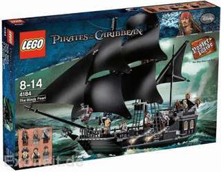 全新 絶板 New LEGO 4184 Black Pearl and 4195 Queen Anne's Revenge