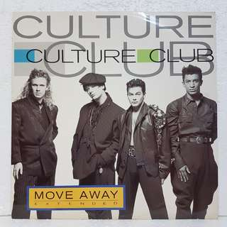 Reserved: Culture Club - Move Away vinyl record