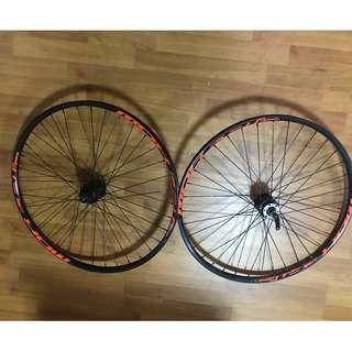 "Used 27.5"" bicycle rim"