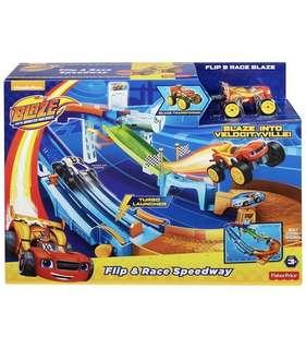Fisher-Price Nickelodeon Blaze & the Monster Machines, Flip & Race Speedway